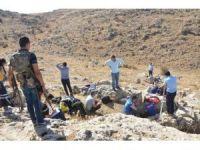 Hazine ararken mağarada mahsur kalan 3 kişiyi AFAD ve itfaiye kurtardı