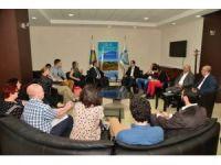 Avrupa Parlamentosu parlamenterlerinden Diyarbakır Büyükşehir Belediyesi'ne ziyaret
