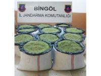 Bingöl'de 2 Milyon TL'lik esrar ele geçirildi