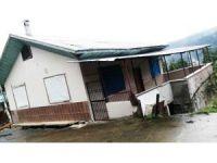 Rize'de 7 ev heyelan tehlikesi nedeniyle boşaltıldı