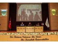 """KBÜ'de """"Direnişten Dirilişe 15 Temmuz Şehitleri Anma Konferansı"""""""