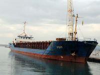 Türk şirketine ait M/V FOM isimli gemi Ereğli açıklarında yan yattı