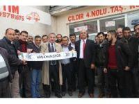 Ardahanspor'a maddi destek