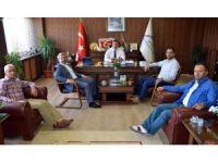 Eğitim Bir Sen Genel Başkan Yardımcısı Olçum'dan, Müdür Koca'ya ziyaret