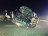 Kozan'da traktör takla attı: 1 yaralı