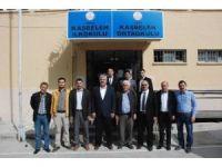 AK Parti Uşak İl Teşkilatı'ndan eğitime destek ziyaretleri sürüyor