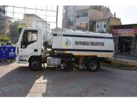 Hayrabolu Belediyesi yol süpürme aracı satın aldı