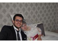 Down sendromlu Reyhan'ın düğün hayali gerçek oldu