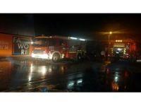 Başkent'te korkutan iş yeri yangını