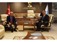 Başkan Öz'den Genel Müdür Coşkun'a ziyaret