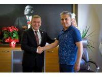 Başkan Uysal'dan Baro Başkanı Balkan'a nezaket ziyareti