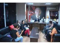 Avrupalı parlamenterlerden AK Parti'ye ziyaret