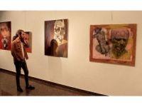İranlı genç sanatçılardan ÇSM'de sergi