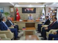 MASKİ Genel Müdürü Dr. Özgür Özdemir'den Doğanşehir'e ziyaret