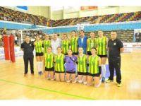 MSK Bayan Voleybol Takımı mağlubiyeti hakeme bağladı