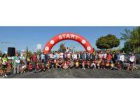 Ulusal MTB Cup (Dağ) Bisiklet Yarışmasında milli sporcuların mücadelesi nefesleri kesti