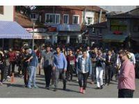 Üniversite öğrencileri Akçakoca'yı gezdi