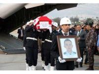 Şehit Polis Hakan Akdere'nin naaşı memleketi Kahramanmaraş'a getirildi