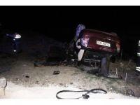 Tekirdağ´da feci kaza: 1 Ölü, 2 Yaralı