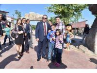 KKTC Turizm ve Çevre Bakanı Ataoğlu, Kepez'i gezdi