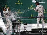 ABD Grand Prix'inin galibi Hamilton