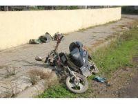 Dolmuş ile elektrikli bisiklet çarpıştı: 1 ölü