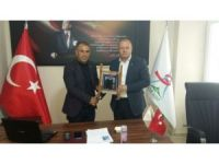 ASİMDER'den Iğdır ASKF Başkanlığına ziyaret