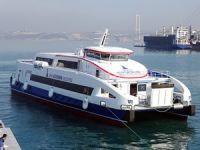 İzmir Büyükşehir Belesiyesi için Özata Tersanesi'nde inşa edilen 13'ncü gemi suya indirildi