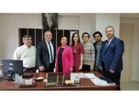 Türk Sağlık-Sen'den Kaya'ya ziyaret