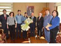 PTT Mersin Baş Müdürü Kaplan'dan, Vali Çakacak'a ziyaret