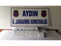 Aydın'da 2410 paket kaçak sigara ele geçirildi