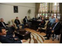 Üniversiteler Arası Güreş Şampiyonası heyetinden Gül'e ziyaret