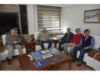 KTÜ öğretim üyeleri Başkan Köksoy'u ziyaret etti