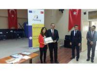 Felekşan Fırat Ortaokulu, Avrupa kalite ödüllünü Aydın'a getirdi