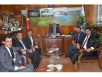 Bitlis Barosundan Başkan Aksoy'a ziyaret