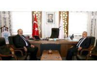 Rektör Çomaklı'dan Başkan Orhan'a ziyaret
