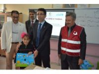 Siirt'teki Suriyeli öğrencilere eğitim desteği