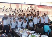 Özaltun, Belediyesporlu futbolcularla kahvaltıda buluştu