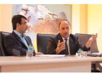 Müdür Şahin, kırsal kalkınma yatırımlarını anlattı