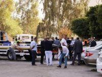 Patlama sonrası zarar gören araçlar kaldıırlı, otopark temizleniyor