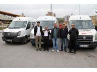 Yozgat'ta minibüs şoförlerin vergi tepkisi