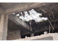 DEAŞ'ın zorla girdiği evler görüntülendi