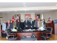 Başkan Yemenici'ye eğitimcilerden ziyaret