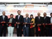 10. Adana Mobilya ve Dekorasyon Fuarı açıldı