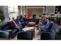 Başkan Yalçın'dan TSO Başkanı Ateş'e ziyaret