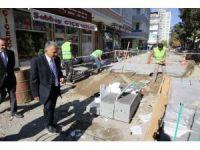 Yanıkoğlu Camisinde restorasyon çalışması