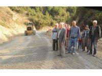 Yıllardır süren yol sorununu Başkan Çerçioğlu çözdü