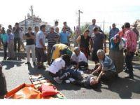 Fethiye'de kaza sonarsı halk yolu trafiğe kapattı