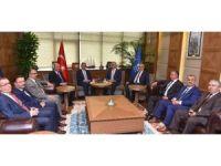Bakandan Bursa'nın dönüşümüne destek