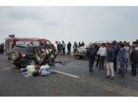 Bitlis'te trafik kazası: 2 ölü, 5 yaralı